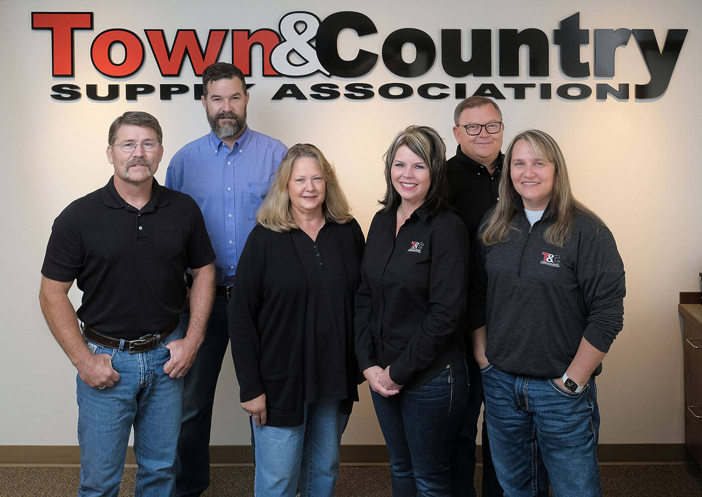 Town and Country Staff 2020 - About Us