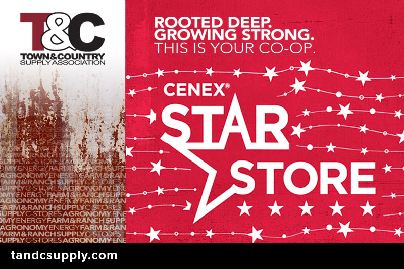 TC Wordpress Star Award - Town & Country C-Stores Honored as Summer 2020 Cenex RED Inspection STAR Stores