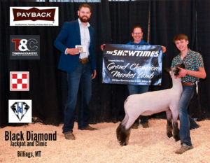Market Lamb Grand Champion Jason Huelle copy 300x233 - Town & Country Supply Association Announces Jackpot Award Recipients